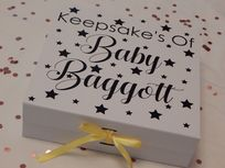 Baby Personalised Large Luxury Keepsake Gift Box